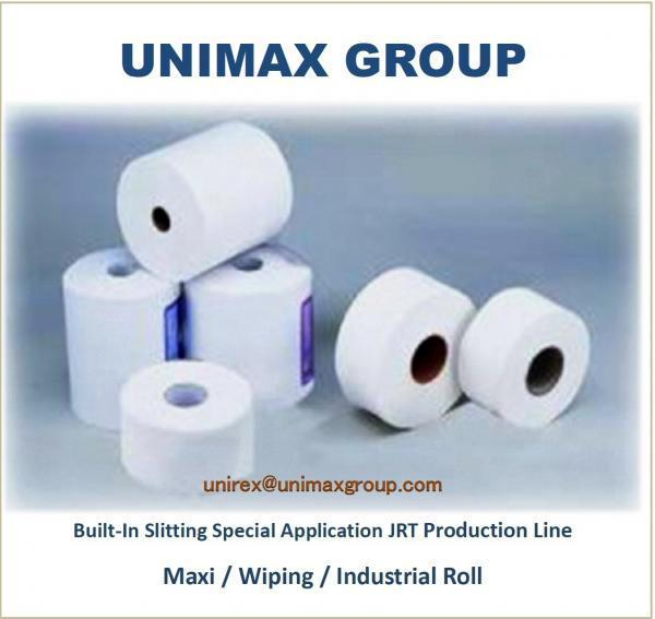 Special Application Model for Tissue Paper Industrial Rolls / Catering / Wiping Rolls / Maxi Rolls