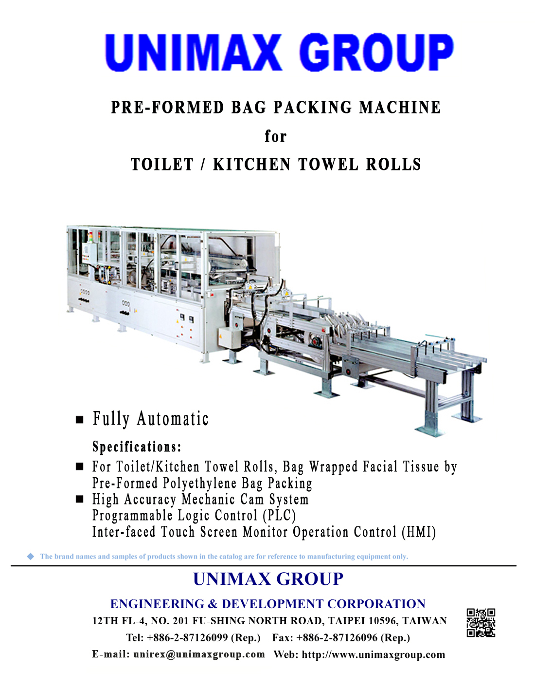 Fully Automatic Preformed Bag Packing Machine for Toilet   Kitchen Towel  Rolls Tissue Paper Packing UC 830 MB Series  15     Unimax Group  Engineering. Fully Automatic Preformed Bag Packing Machine for Toilet   Kitchen